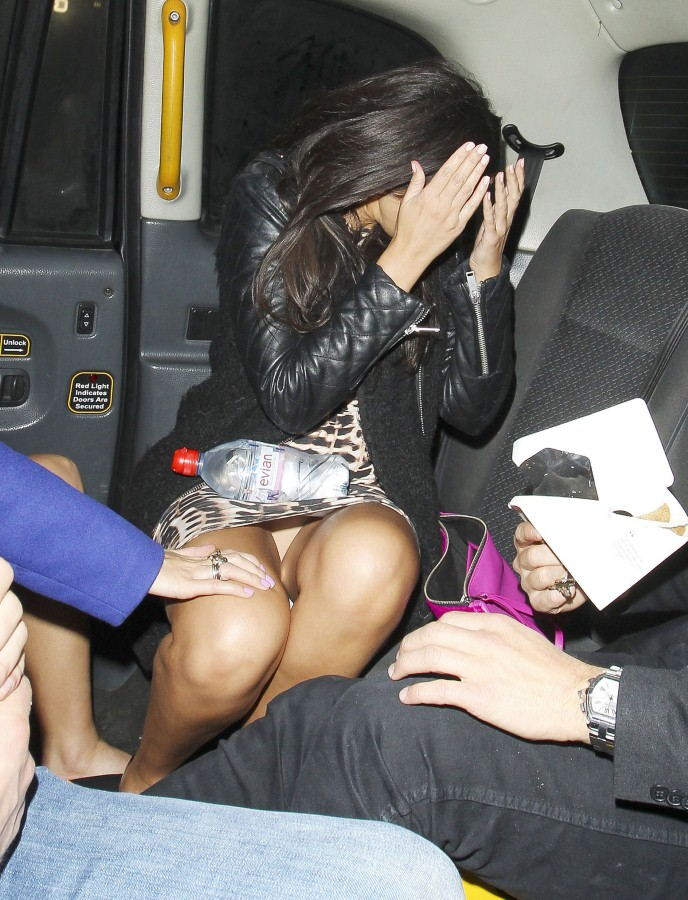 MICHELLE KEEGAN Leaves Faces Nightclub